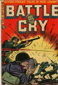 Cover Thumbnail for Battle Cry (Stanley Morse, 1952 series) #14