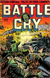 Cover Thumbnail for Battle Cry (Stanley Morse, 1952 series) #17