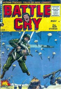 Cover Thumbnail for Battle Cry (Stanley Morse, 1952 series) #18