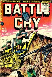Cover Thumbnail for Battle Cry (Stanley Morse, 1952 series) #19