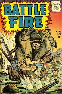 Cover Thumbnail for Battle Fire (Stanley Morse, 1955 series) #1