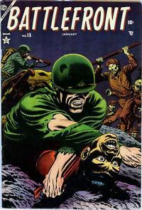 Cover Thumbnail for Battlefront (Marvel, 1952 series) #15