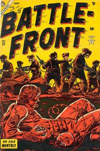 Cover Thumbnail for Battlefront (Marvel, 1952 series) #21
