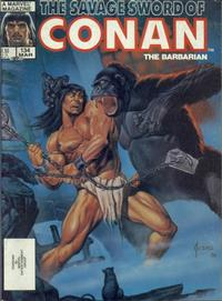 Cover Thumbnail for The Savage Sword of Conan (Marvel, 1974 series) #134 [Direct Edition]