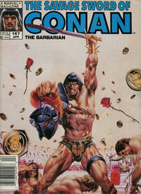 Cover Thumbnail for The Savage Sword of Conan (Marvel, 1974 series) #147