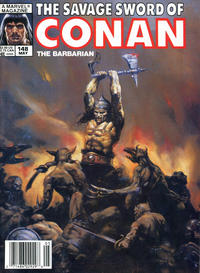 Cover Thumbnail for The Savage Sword of Conan (Marvel, 1974 series) #148
