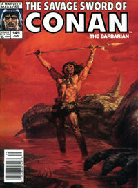 Cover for The Savage Sword of Conan (Marvel, 1974 series) #149