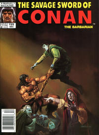 Cover Thumbnail for The Savage Sword of Conan (Marvel, 1974 series) #155