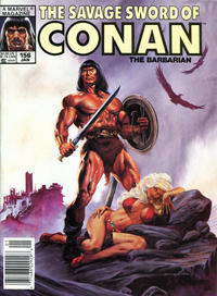 Cover Thumbnail for The Savage Sword of Conan (Marvel, 1974 series) #156