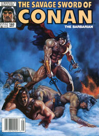Cover Thumbnail for The Savage Sword of Conan (Marvel, 1974 series) #160
