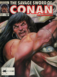 Cover Thumbnail for The Savage Sword of Conan (Marvel, 1974 series) #169 [Direct]