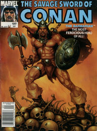 Cover Thumbnail for The Savage Sword of Conan (Marvel, 1974 series) #189