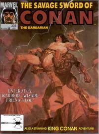Cover Thumbnail for The Savage Sword of Conan (Marvel, 1974 series) #205