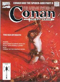 Cover Thumbnail for The Savage Sword of Conan (Marvel, 1974 series) #208