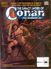 Cover Thumbnail for The Savage Sword of Conan (Marvel, 1974 series) #209