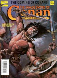 Cover Thumbnail for The Savage Sword of Conan (Marvel, 1974 series) #222