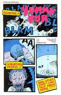 Cover Thumbnail for Yummy Fur (Vortex, 1986 series) #9