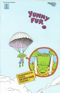 Cover for Yummy Fur (Vortex, 1986 series) #16