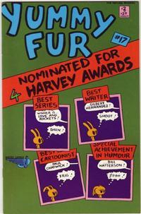 Cover Thumbnail for Yummy Fur (Vortex, 1986 series) #17