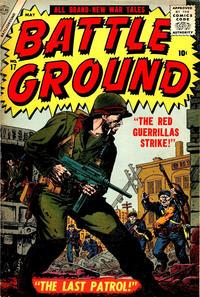 Cover Thumbnail for Battleground (Marvel, 1954 series) #17