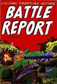 Cover Thumbnail for Battle Report (Farrell, 1952 series) #1