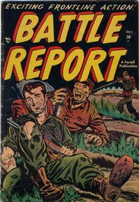 Cover Thumbnail for Battle Report (Farrell, 1952 series) #2