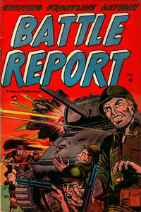 Cover Thumbnail for Battle Report (Farrell, 1952 series) #3
