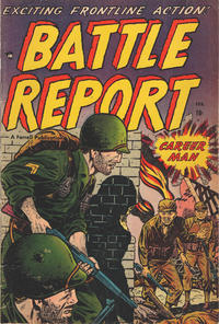 Cover Thumbnail for Battle Report (Farrell, 1952 series) #4