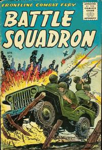 Cover Thumbnail for Battle Squadron (Stanley Morse, 1955 series) #1