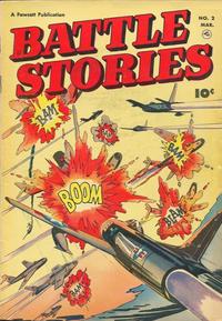 Cover Thumbnail for Battle Stories (Fawcett, 1952 series) #2