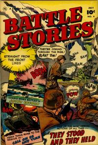 Cover Thumbnail for Battle Stories (Fawcett, 1952 series) #4