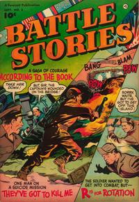 Cover Thumbnail for Battle Stories (Fawcett, 1952 series) #5
