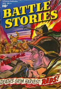 Cover Thumbnail for Battle Stories (Fawcett, 1952 series) #6