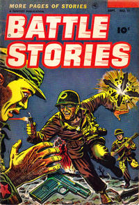 Cover Thumbnail for Battle Stories (Fawcett, 1952 series) #11