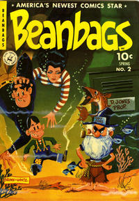 Cover Thumbnail for Beanbags (Ziff-Davis, 1951 series) #2