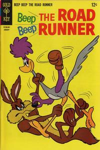 Cover Thumbnail for Beep Beep the Road Runner (Western, 1966 series) #6
