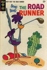 Cover Thumbnail for Beep Beep the Road Runner (Western, 1966 series) #8