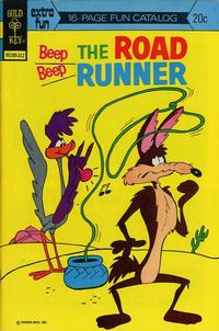 Cover Thumbnail for Beep Beep the Road Runner (Western, 1966 series) #40 [Gold Key]