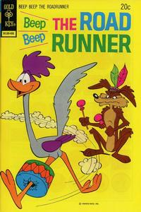 Cover Thumbnail for Beep Beep the Road Runner (Western, 1966 series) #43 [Gold Key]