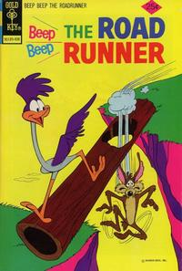 Cover Thumbnail for Beep Beep the Road Runner (Western, 1966 series) #44 [Gold Key]