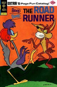 Cover Thumbnail for Beep Beep the Road Runner (Western, 1966 series) #47 [Gold Key]