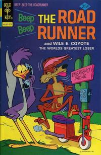 Cover Thumbnail for Beep Beep the Road Runner (Western, 1966 series) #53 [Gold Key]