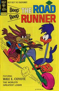 Cover Thumbnail for Beep Beep the Road Runner (Western, 1966 series) #57 [Gold Key]