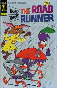 Cover Thumbnail for Beep Beep the Road Runner (Western, 1966 series) #60 [Gold Key]