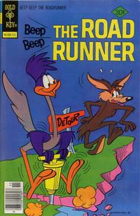 Cover Thumbnail for Beep Beep the Road Runner (Western, 1966 series) #68 [Gold Key]