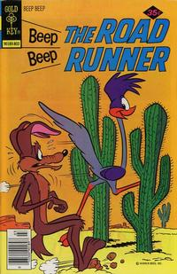 Cover Thumbnail for Beep Beep the Road Runner (Western, 1966 series) #70 [Gold Key]