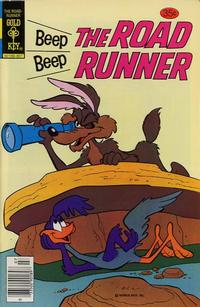 Cover Thumbnail for Beep Beep the Road Runner (Western, 1966 series) #72 [Gold Key]