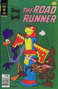 Cover Thumbnail for Beep Beep the Road Runner (Western, 1966 series) #74 [Gold Key Variant]