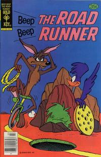 Cover Thumbnail for Beep Beep the Road Runner (Western, 1966 series) #77 [Gold Key]