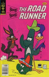 Cover Thumbnail for Beep Beep the Road Runner (Western, 1966 series) #79 [Gold Key]